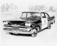 1959 Dodge Coronet Police Car