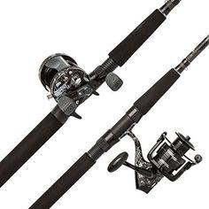 #fishingshopnow Abu Garcia Catfish Commando Fishing Rod and Reel Combo, 7 Feet, Medium Heavy Power: fishingshopnow are now… #fishingshopnow