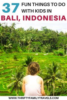 Some people may think of Bali as a relaxing couples destination, but there are so many awesome things to do in Bali with kids. We will share some of our favorite kid friendly activities in Bali, Indonesia scenic lookouts in Bali, animal encounters in Bali