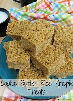 Cookie Butter Rice K