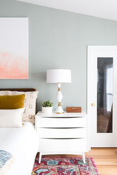 One Room Challenge Final Reveal: Our Master Suite Makeover (+ video) by top Houston lifestyle blogger ashley rose of sugar & Cloth #bedroom #makeover #masterbedroom #modern #interiors #homedecor