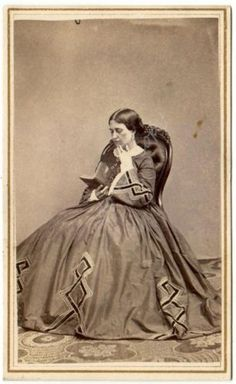 Woman-Mary-Flowers-Id-039-d-Revenue-Stamp-Palmyra-NY-Antique-Civil-War-era-CDV-Photo