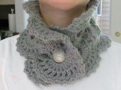 Cashmere Crochet Cowl