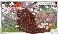 The poppy garden, 1897 - Walter J. West
