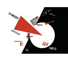 Example – Inspiration for album cover art: The Russian avant-garde & Constructivism Left: El Lissitzky Beat the Whites with the Red Wedge. Sophie Taeuber Arp, Art Timeline, Timeline Design, History Timeline, Russian Constructivism, Avantgarde, Modernist Movement, Russian Avant Garde, Red Wedges