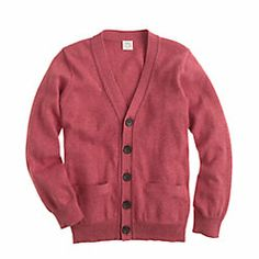 cute little boys cardigan. Maybe i want this for me too.