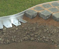 AluExcel aluminium hard surface landscape edging