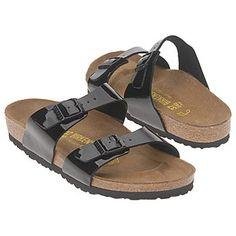 2576907737e6 Birkenstock Sydney Sandals (Black Patent) - Women s Sandals - 37.0 M Black  Flats