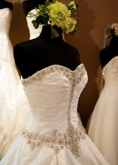 Bridal Salon Spotlight: Something Blue Shoppe featuring Justin Alexander Style 8490 #wedding #bride #bridal #dress