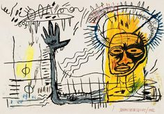 View Untitled by Jean-Michel Basquiat sold at Contemporary Art Evening on 14 February 2013 London. Learn more about the piece and artist, and its final selling price Jean Michel Basquiat Art, Jm Basquiat, Franz Kline, Willem De Kooning, Henri Matisse, Urbane Kunst, Paul Klee, Outsider Art, Whitney Museum