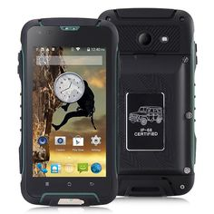 Jeep F605 4.5inch MTK6572 IP68 Waterproof Rugged Smartphone - China Cool Gadgets