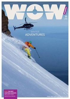 It's time for winter adventures in Iceland. Go heli-skiing on the Troll Peninsula or get inspired by our Iceland winter vacation itinerary. Find out about the best Christmas markets and New Year's parties in Europe and WOW air's latest destinations Wow Air, Best Christmas Markets, Life Guide, Travel Magazines, Best Part Of Me, Where To Go, Time Travel, Iceland
