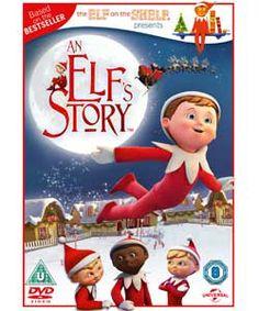 An Elf's Story: The Elf on the Shelf DVD.
