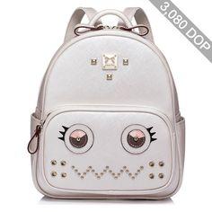 PU Medium Drawstring Casual Backpack
