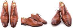 Fertig behandelte Schuhe