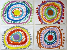 circles and dots Le Journal de Chrys: Ecole