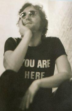 John Lennon (LOVE the shirt!)