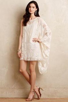 Anna Sui Luana Silk Tunic #anthroregistry