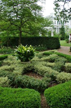 Knot garden, Karl Gercens
