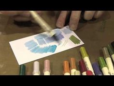 Scrap Time - Ep. 790 - Tim Holtz share tips for Blending Distress Markers!