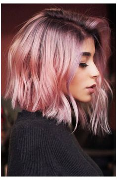 Rosa Highlights, Blonde Hair With Highlights, Ashy Blonde, Bronze Highlights, Blonde Shades, Pink Blonde Hair, Rose Blonde, Dark Pink Hair, Blonde Roots