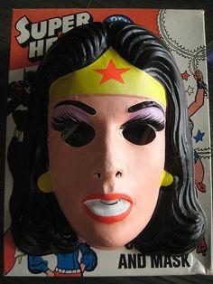 80's Halloween mask