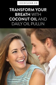 Coconut Oil Pulling: Transform Your Breath With Coconut Oil and Daily Oil Pulling. It is one of the easiest ways to freshen your breath, whiten your teeth, and improve your overall health. COCOCLEAR wants to ensure you have an awesome coconut oil pulling experience. Transform Your Breath at http://blog.cococlear.co/transform-your-breath-with-coconut-oil-and-daily-oil-pulling/