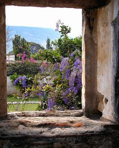 antigua-courtyard by inspired by..., via Flickr