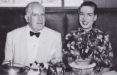As revealed by Michael Sucsy in the audio commentary for HBOs Grey Gardens (2009), this picture of Little Edie and her father inspired the use of the grapefruit as Edies meal in the films restaurant scene.   Sucsy felt it did not only serve as an homage to this photograph, but it also depicted the control that Edies father, Phelan, had on his daughter, by ordering her such a light, slimming meal.