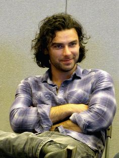So, I just stumbled onto THIS guy. God damn it, another hot guy from the UK/Scotland/Ireland region. I can't take it. I am moving. Aidan Turner