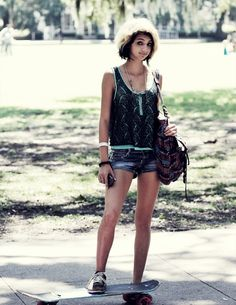 Out and About (Forsyth Park) #StreetStyle #Savannah