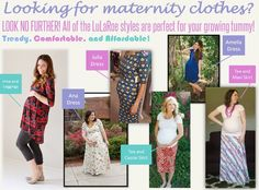 #LulaRoe is great to use for maternity clothes! I lived in them.