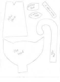 Pete the Cat Craft Templates.pdf | Teaching Goodies | Pinterest ...