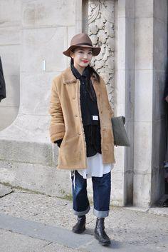 Kiyo Matsumoto, Paris via Trendy Crew