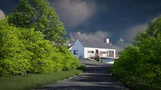 The project creates a contemporary addition to a bungalow. The extension has been designed to minimise the impact on the adjoining landscape. Donegal, Bungalow, Building A House, Minimalism, Country Roads, House Design, Architects, Contemporary, Landscape