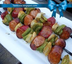 Sausage Kabobs Recipe                                                       …