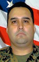 Navy Hospital Corpsman 1st Class Gilbert Minjares Jr.  Died February 7, 2007 Serving During Operation Iraqi Freedom  31, of El Paso, Texas; assigned to Marine Aircraft Group 14, 2nd Marine Aircraft Wing, Cherry Point, N.C.; died Feb. 7 in a helicopter crash in Anbar province, Iraq.