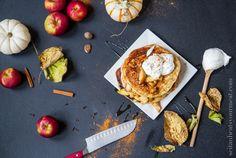 Vegan Apple Pie Pancakes | Seitan Beats Your Meat