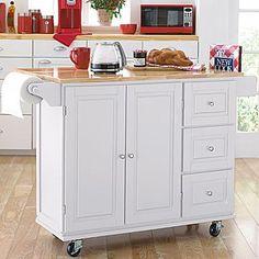 Kitchen On Pinterest Kitchen Carts Granite And White Kitchens