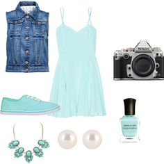 Lights Camera Picture Day by jazzycrump on Polyvore featuring Talula, ONLY, Henri Bendel, Deborah Lippmann and Nikon