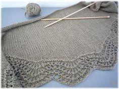 MES FAVORIS TRICOT-CROCHET: Modèle tricot gratuit : Le châle Abyssal