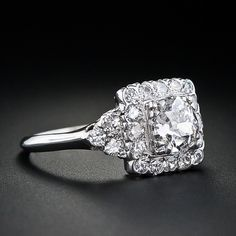 GORGEOUS! 1930's vintage engagement ring