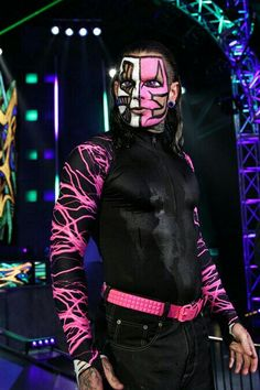 My favourite wrestler ever, Jeff Hardy.