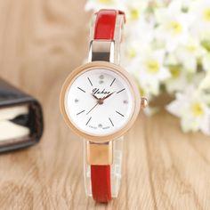 $4.43 (Buy here: https://alitems.com/g/1e8d114494ebda23ff8b16525dc3e8/?i=5&ulp=https%3A%2F%2Fwww.aliexpress.com%2Fitem%2FElegant-Ladies-Red-Watches-Business-Stylish-Trendy-Thin-Leather-Analog-Small-Size-Women-Wristwatch-Bracelet-Female%2F32775849169.html ) Elegant Ladies Red Watches Business Stylish Trendy Thin Leather  Analog Small Size Women Wristwatch Bracelet Female Clock Hour for just $4.43