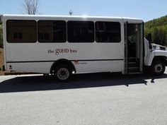 The Good Bus was parked outside our expo at Jackson Gore Inn in Ludlow