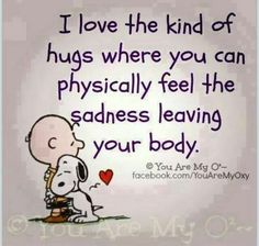 I love these kind of hugs, too!
