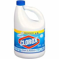 Clorox Concentrated Regular Bleach, 121 fl oz $3.50