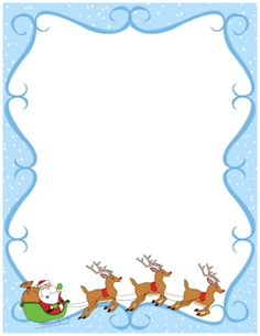 Free Christmas Borders: Clip Art, Page Borders, and Vector Graphics Christmas Boarders, Free Christmas Borders, Christmas Frames, Christmas Paper, Christmas Lunch, Create Flyers, Photo Frame Design, Christmas Stationery, Page Borders
