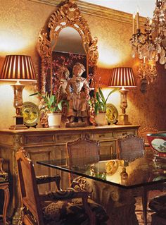 William R. Eubanks » Interior Design and Antiques » Exquisite Spaces » Dining Rooms