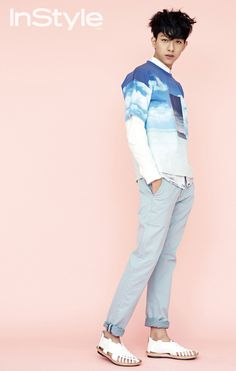 CNBLUE's Lee Jung Shin Is Badass In Pastel For InStyle Korea's April 2014 Issue | Couch Kimchi